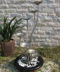 Jakarta Stainless Steel Water Feature