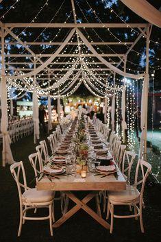 Warm White, Fairy String Lights, Mini String Lights, Weddings, C Wedding Centerpieces, Wedding Table, Wedding Ceremony, Rustic Wedding, Wedding Decorations, Centerpiece Ideas, Wedding Backyard, Whimsical Wedding, Table Decorations