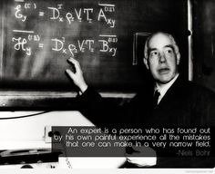 Niels Bohr message