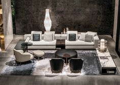 Explore opulence with the Minotti 2015 collection.   http://ow.ly/RsniB
