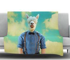 Passenger 19H by Natt Fleece Throw Blanket