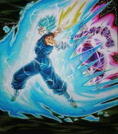 Vegito Blue vs Fusion Zamasu
