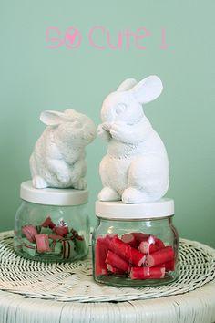 DIY p´tits lapins trop mignons!