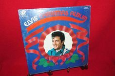 "Vintage Vinyl LP ""Elvis' Christmas Album"" 1979 by trackerjax on Etsy Irving Berlin, Christmas Albums, Used Vinyl, Silent Night, Blue Christmas, Lps, Baseball Cards, Handmade, Vintage"