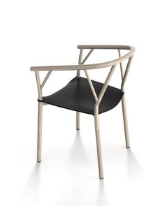 Via Giopato & Coombes | Valerie Chair | Black and Wood
