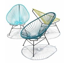 The clasic Acapulco Chair.... in colors! - Casa Haus