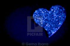 """""""Blue #Heart"""" by Gema Ibarra at #Picfair"""