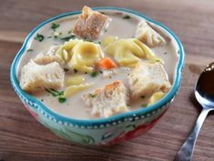 Soup Recipes, Cooking Recipes, Dinner Recipes, Cooking Ideas, Healthy Recipes, Spinach Tortellini Soup, Creamed Peas, Lemon Pasta