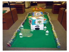 mini golf in the office ideas - Google Search