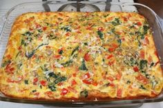Recipe for Egg Vegetable Casserole | Two Peas & Their Pod
