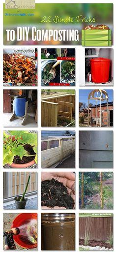 Gardening: 22 Simple Tricks to DIY Composting!