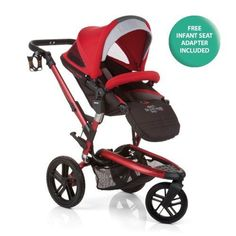 Jan Trider Extreme AllTerrain Stroller  Deep Red *** More info could be found at the image url.