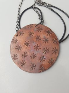 Check out this item in my Etsy shop https://www.etsy.com/uk/listing/266053183/sale-boho-copper-pendant-dn0009
