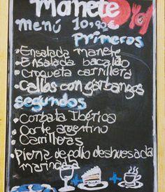 El #menu de esta semana en #tascamanete #restaurante #castellon #menudiario #navarra15 1090