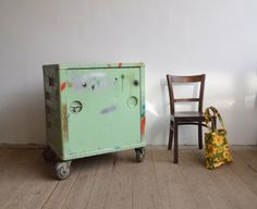 Metal cabinet from an instrument factory Cabinets, Storage, Metal, Design, Armoires, Purse Storage, Fitted Wardrobes, Larger