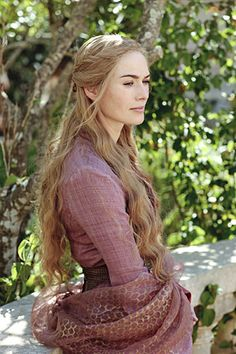 Cersei Lannister, played by Lena Headey, Game of Thrones Game Of Thrones Quotes, Game Of Thrones Funny, Hbo Game Of Thrones, Queen Cersei, Game Of Thrones Costumes, Iron Throne, Lena Headey, Hair Game, Movie Costumes