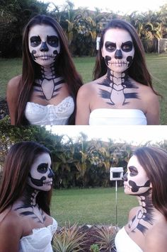 Skeleton Girls by ~starbuxx on deviantART