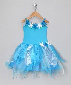 Love this Turquoise Flower Madeline Dress - Toddler & Girls on #zulily! #zulilyfinds