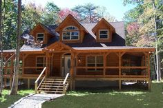 Battle Creek Log Homes
