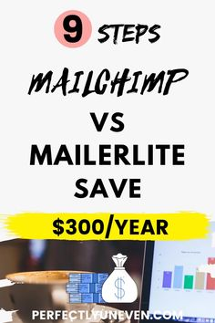 Mailerlite vs Mailchimp Save $400/Year - Perfectly Uneven - Mailchimp vs Mailerlite review ad comparison. Which is the best email marketing service. Or at least which is the best free email marketing service for bloggers and really any other online business. Taking into considerion pricing, email automation functions, sequences, campaigns and all of the other features... #mailchimpvsmailerlite #emailmarketing #emailmarketingforbeginners #emailmarketingtips Email Marketing Software, Email Marketing Campaign, Online Marketing, Affiliate Marketing, Online Business Opportunities, Business Ideas, Best Free Email, Budget Planer, Friday