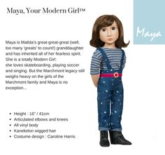 Kickstarter - even the smallest amount will help to get these dolls creaed.  Intelligent, creative play from A Girl for All Time: celebrating today's girls, who deserve more than play lipstick & ironing boards!