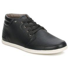 competitive price 42564 20d5e Baskets montantes Boxfresh EAVIS LEATHER Noir - Livraison Gratuite avec  Spartoo.com ! - Chaussures
