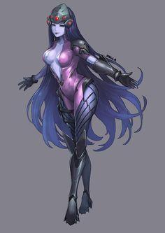 Overwatch-Blizzard-фэндомы-Widowmaker-3445920.jpeg (2000×2829)