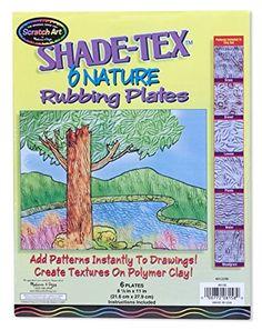 Melissa & Doug Shade-Tex Rubbing Plates - Nature Set Melissa & Doug http://www.amazon.com/dp/B007EA5G3A/ref=cm_sw_r_pi_dp_DwwCub18FPZB5