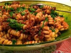 Fusilli Salsa Ricca « Mouthwatering Vegan Recipes™.