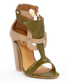 Look at this Beige Lana Sandal on #zulily today!