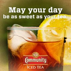 May your day be as sweet as your #tea!