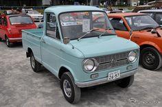 【オートジャンボリー13】日野 コンテッサ、スズキ スズライト[写真蔵] 10枚目の写真・画像 Small Trucks, Mini Trucks, Small Cars, Old Trucks, Retro Cars, Vintage Cars, Funny Looking Cars, Suzuki Cars, Kei Car