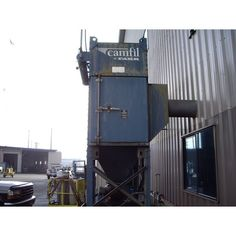 Model: G26.  Cartidge type filter.  Pulse air cleaning.  Bolt on legs.  Rotary air lock.  Twin City 913 RBA-SW fan.  30 HP motor.  Reported in good condition with all piping.    View moreDust...