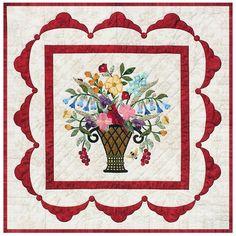 P3 Designs: Shop | Category: Patterns | Product: Virginia Bouquet
