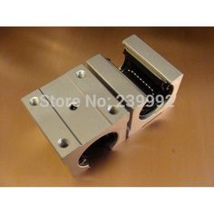 4 pcs SBR16UU SBR16 UU 16mm Linear Bearing Pillow Block 16mm Open Linear Bearing Slide Block CNC Router Parts //Price: $21.88//     #shop