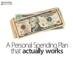A Personal Spending Plan/Budget that Actually Works | Becoming Minimalist