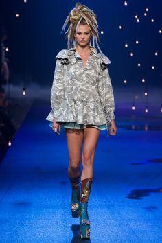 Karlie Kloss au défilé Marc Jacobs printemps-été 2017