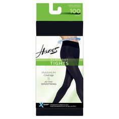 6024ffb6874 Shop Hanes X-Temp Women s Tights with Comfort Flex Waistband. These  Blackout Tights feel luxurious and keep you cool