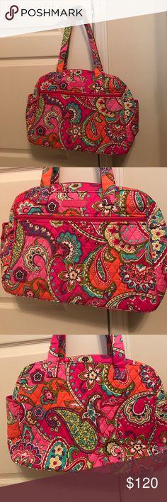 NWOT Vera Bradley baby diaper bag pink swirls Pink swirls Vera Bradley Bags Baby Bags