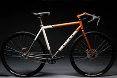 monster cross bike | Naughty bicycle consumer attempts to shoulder his gravel bike.)