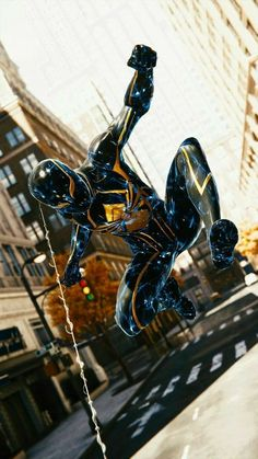 Spider-Man Wallpaper- Rossy Djoliba- Source by Marvel Comics, Marvel Comic Universe, Marvel Art, Marvel Heroes, Marvel Avengers, Miles Spiderman, Spiderman Suits, Spiderman Art, Amazing Spiderman