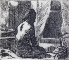 View The Open Window by Edward Hopper on artnet. Browse upcoming and past auction lots by Edward Hopper. Rembrandt, Monet, Gravure Photo, Edward Hopper Paintings, Maria Dolores, American Realism, Digital Museum, Collaborative Art, Pilgrim