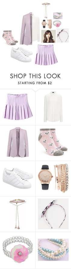 """""""MIestilo0333"""" by paolaalbo ❤ liked on Polyvore featuring WithChic, Rebecca Minkoff, Forever 21, adidas Originals, Jessica Carlyle, Johnny Loves Rosie and LC Lauren Conrad"""