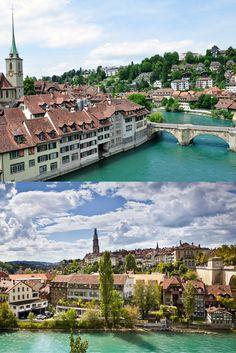 Berna es la capital de Suiza y su casco antiguo ha sido declarado Patrimonio Mundial por la UNESCO.