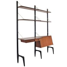 Louis van Teeffelen Wall Unit System for Webe, circa 1950