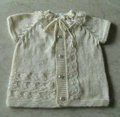 Beyaz Bebek Yelek Tarifi