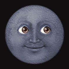 Black Moon Emoji By Stephaniear18 Moon Emoji Black Moon Emoji Black Moon