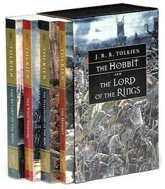 The Lord of the Rings Series- probably my favorite books EVER!!!!