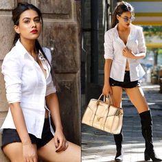 Nia Sharma shows how to accessorize like a boss