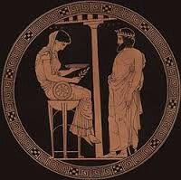 Egeu, na mitologia grega, era filho de Pandião II, pai de Teseu e rei de Atenas. Em algumas versões, ele não é o pai de Teseu, que seria filho de Posidão.